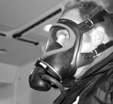 Gas Mask Training